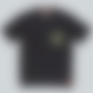Off Black Ea Knit Tee Shirt