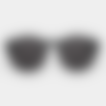 Black Unisex Barstow Sunglasses