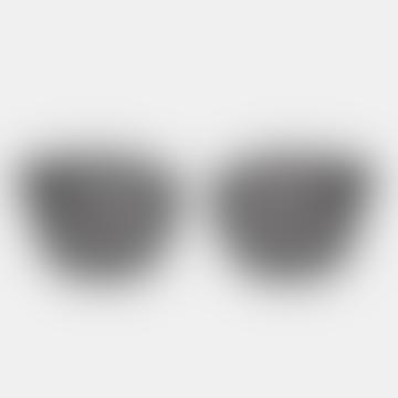Black Solid Ando Sunglasses