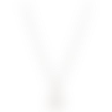 Vivienne Westwood  Rhodium Mayfair Small 3 D Orb Pendant Necklace