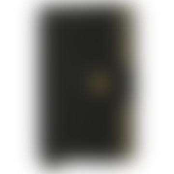 Secrid Black And Gold RFID Crisple Miniwallet
