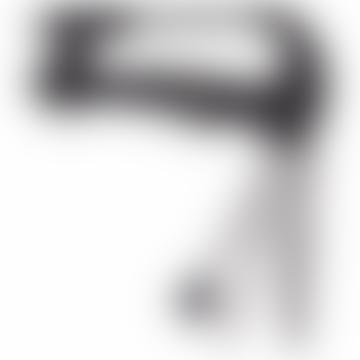 Black/Silver Stainless Steel Backpack Carabiner Travel Multi Tool