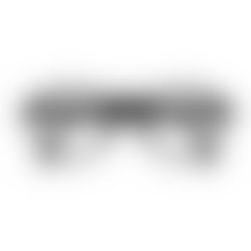 Foldable Reading Glasses in Black (Frame Shape: #F)