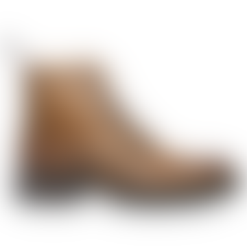 Almond Tweed C Wingcap Brogue Country Boot Grain Leather