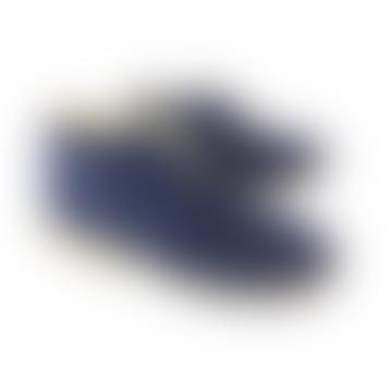 Bottes à talon bleu Jon 45 Serraje Afelpado