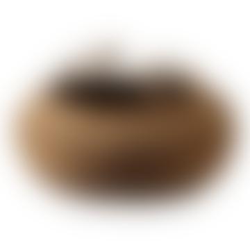 Large Circular Woven Hogla Basket