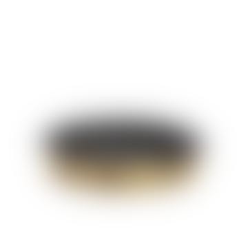 Small Dando Round Brass Tray