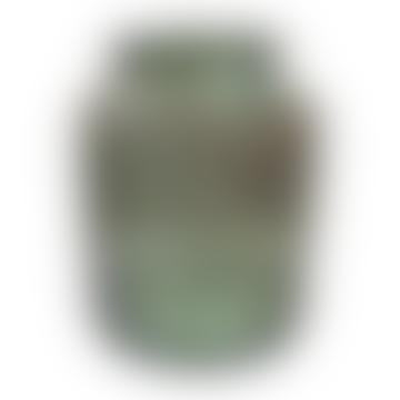 Grand Illusions Large Green Bottle Vase