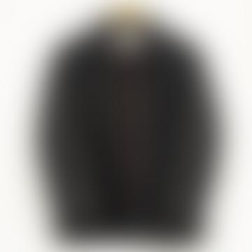 Grey Brown Ecru French Work Wear Wool Jacket