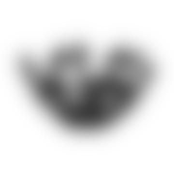 27cm Black La Stanza Dello Scirocco Fruit Bowl