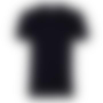 Tiefschwarzes klassisches Bio-T-Shirt