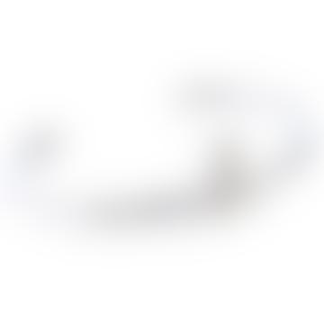 Bracelet ouvert avec bas relief en cristal Rhodia Grace