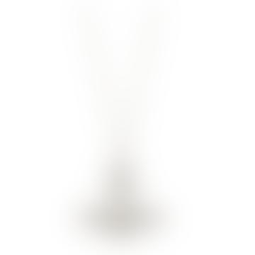 Vivienne Westwood  Rhodium Minnie Bas Relief Pendant