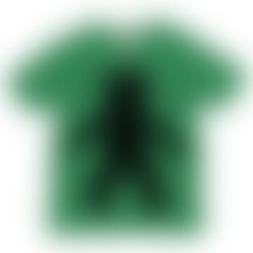 Chalkboard T-Shirt Spaceman Design Green