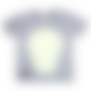 Glow In The Dark Interactive T-Shirt - Skull Design Adult Grey