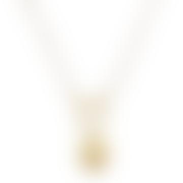Medium Perla By Eenvoud Wolf Pearl Necklace