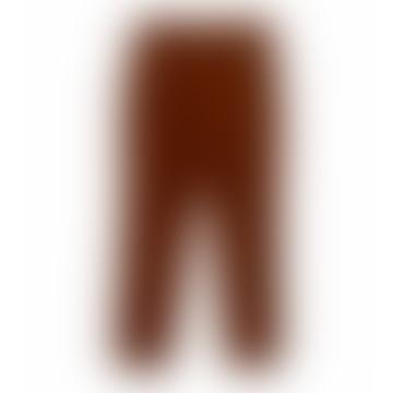 Oliver Spencer Rust Cord Fishtail Trouser