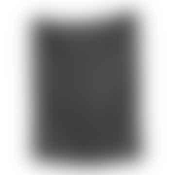 Linen Tea Towel In Charcoal Grey