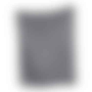 Linen Tea Towel In Pale Grey