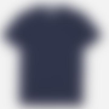Hutspot Round Neck T-Shirt Women Navy