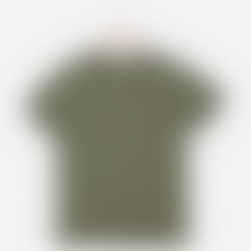 Hutspot Round Neck T-Shirt Women Green