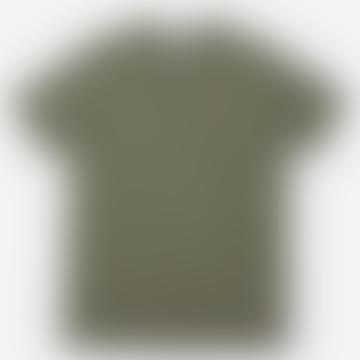 Hutspot Round Neck T-Shirt Men Green