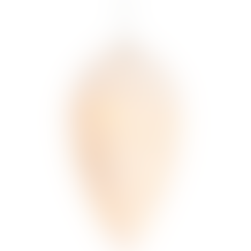12 Cm Celina Glass Cone Light Decoration