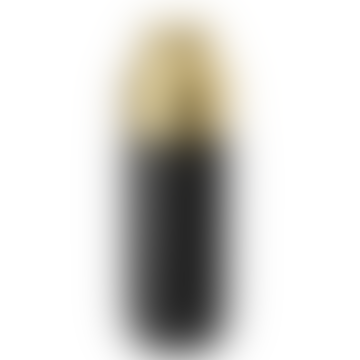Black/Gold Colar Thermos Bottle