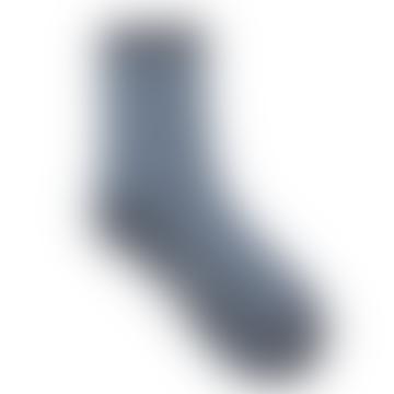 Lichen Blue Dean Summer Stripe Sock
