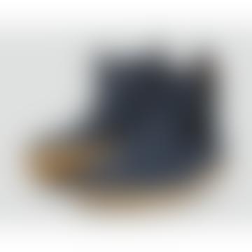 Bobux Unisex Navy Blue 'Jodhpur' I-Walk Boots