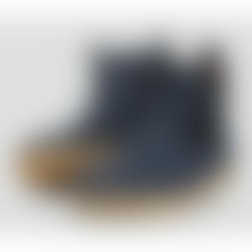 Unisex Navy Blue 'Jodhpur' I-Walk Boot