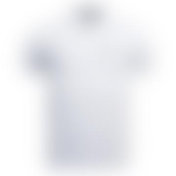 Barbour Beacon White Polo Shirt