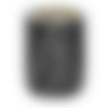 Night Black Marble & Brass Toothbrush Holder
