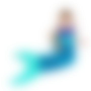 Aqua Mermaid Kids Blanket