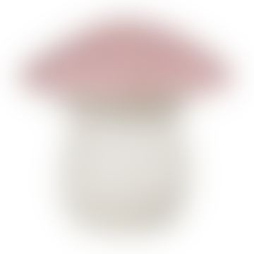 Vintage Rose Fly Agaric Lamp