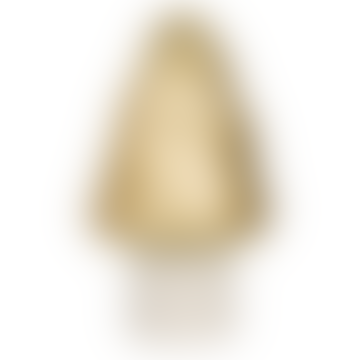 Gold Point Mushroom Lamp