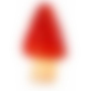 Red Point Mushroom Lamp