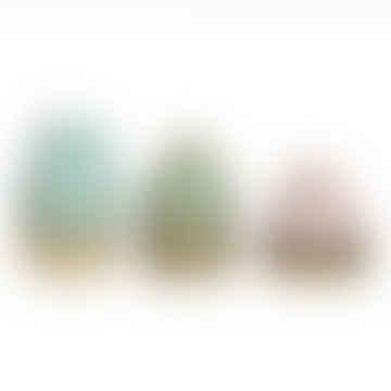 &klevering Set Of 3 Avant Multicolour Vases