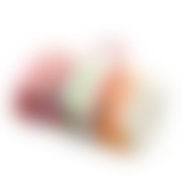 Rainbow Grey Stripe Polo Picnic Rug With Waterproof Backing