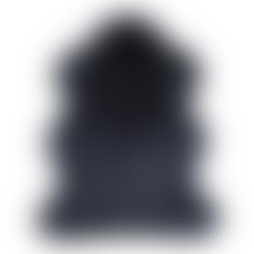 Medium Ebony Luxury Faux Fur Floor Rug