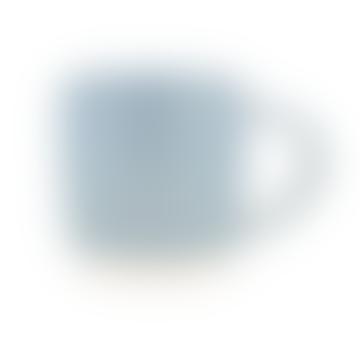 Canvas Home Blue Shell Bisque Mug - Set of 4
