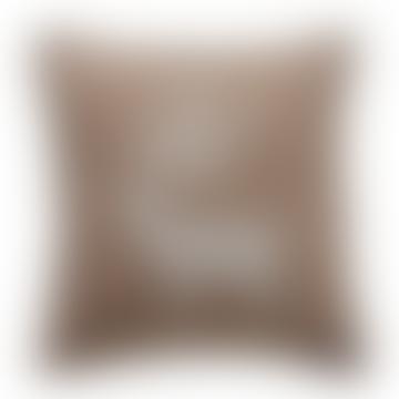 J.J. Textiles Brown Stag Cushion