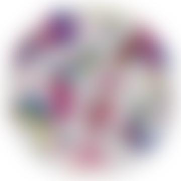 Audubon Multicoloured Round Tray - Large