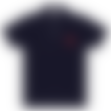 Comme Des Garcons Play CDG Red Play Comme des Garçons Polo Shirt (Navy) P1T006