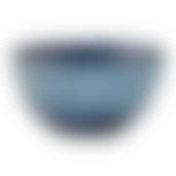 Blue Stoneware Sandrine Bowl