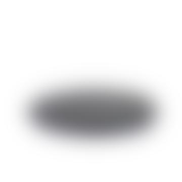 BLACK ROUND TERRAZZO SERVING PLATTER - S