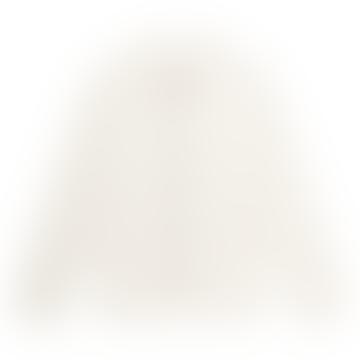 White Natural Knickerbocker Worker Coat