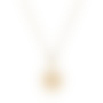 Rockstar Necklace Gold Vermeil