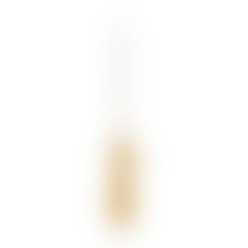 Single N 2 Brass Candleholder