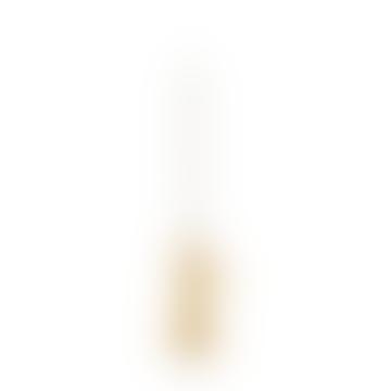 Single N 1 Brass Candleholder